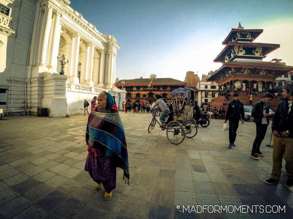 Das pulsierende Herz Kathmandus: der Durbar Square.