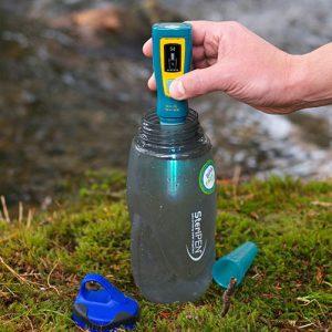 SteriPEN Bild Wasser Aufbereitung Outdoor