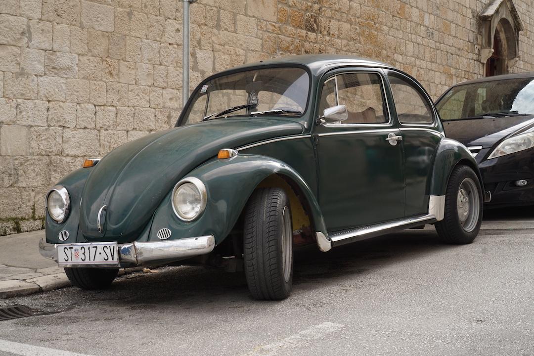 VW, Volkswagen, Käfer, Auto, Kroatien