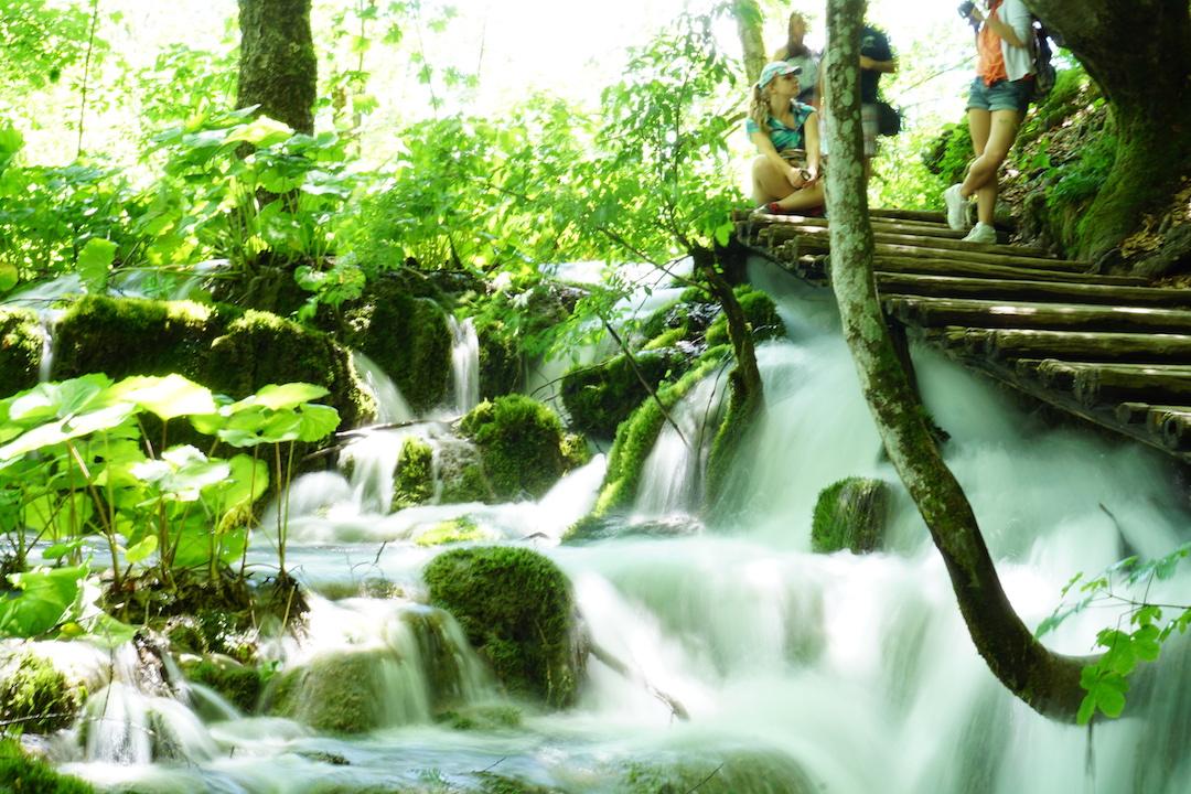 Wasserfall, Plitvice, Plitvicer Seen, Kroatien, Urlaub, Reise